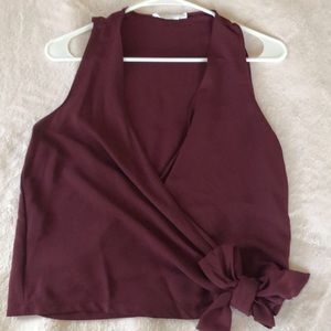 Nordstrom-Lush Maroon Top
